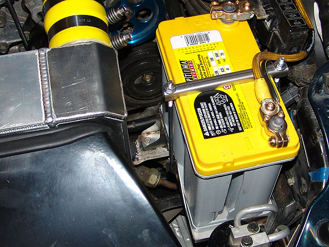 Optima 51r Battery And Jeff S Battery Tray Pics Rx7club